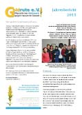 Goldrute Jahresbericht 2015
