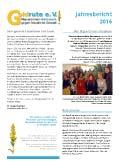 Goldrute Jahresbericht 2016