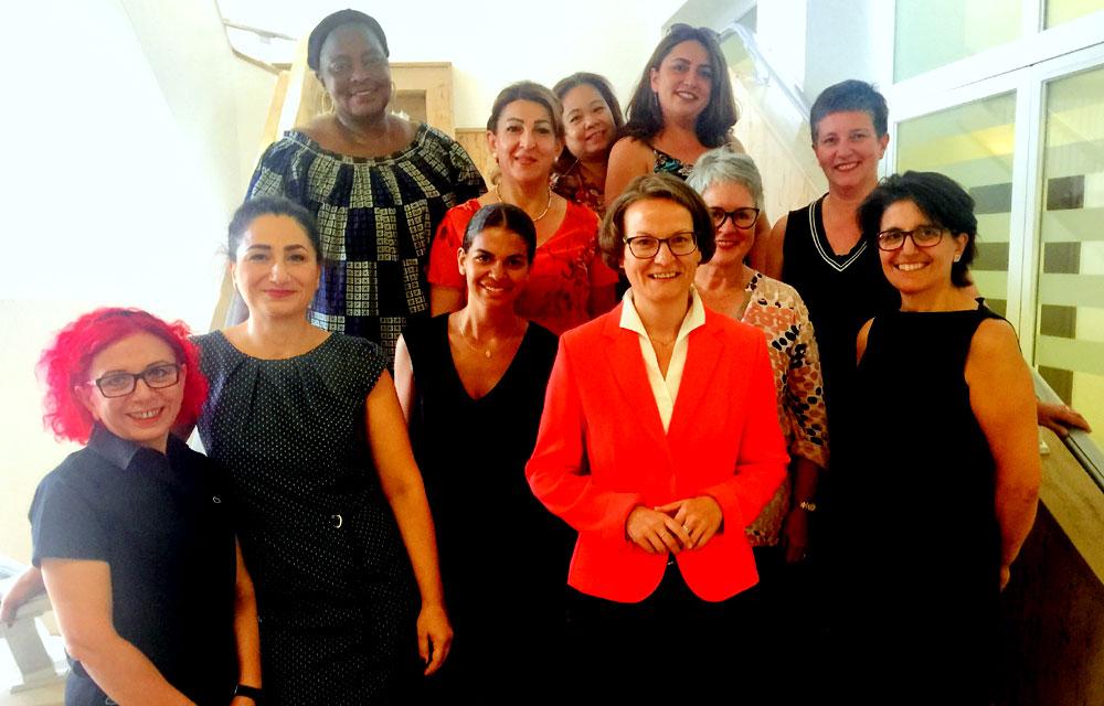 Goldrute bei NRW-Ministerin Ina Scharrenbach